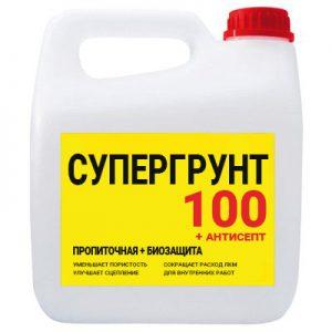 супергрунт 100 + антисепт