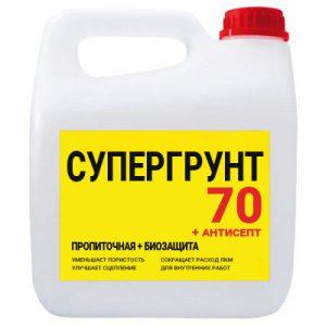 супергрунт 70 + антисепт