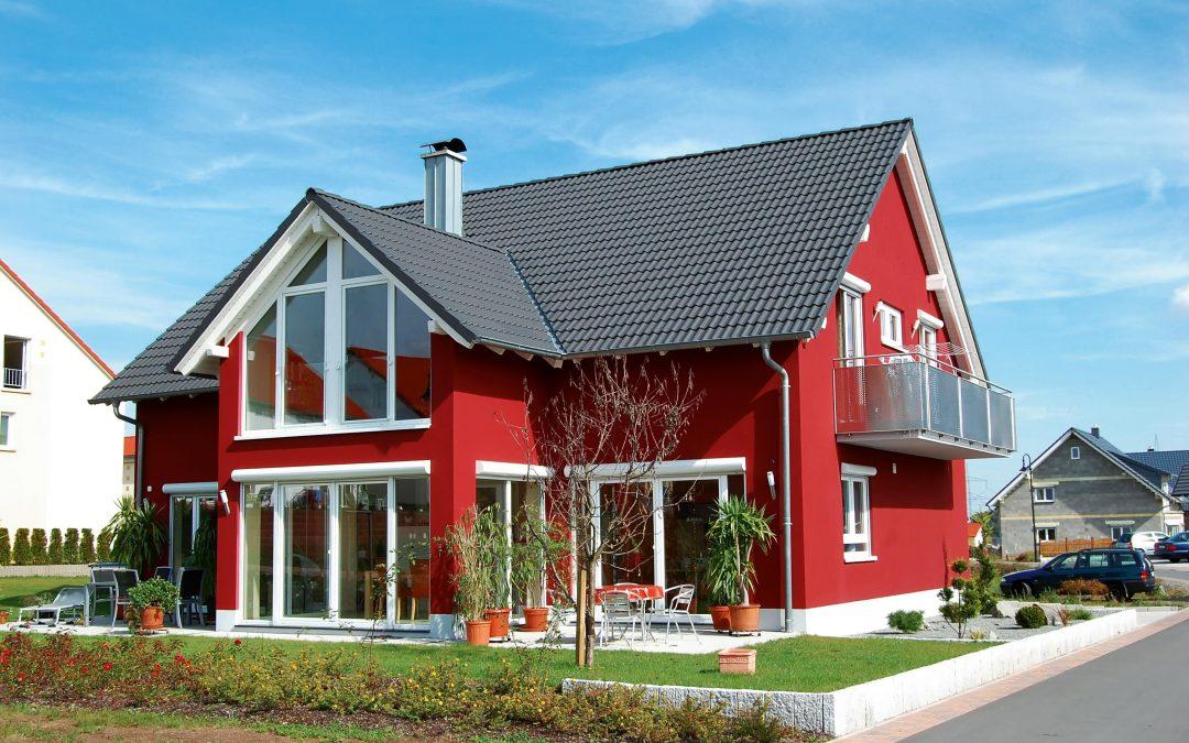 Правила выбора цвета фасада для дома