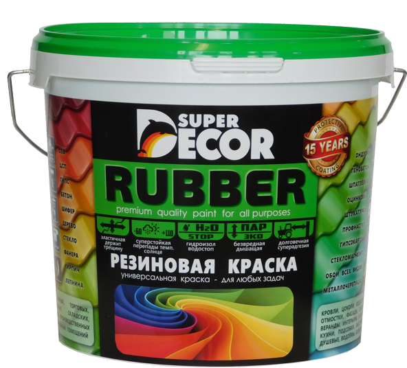 Rubber Super Decor — красим металл